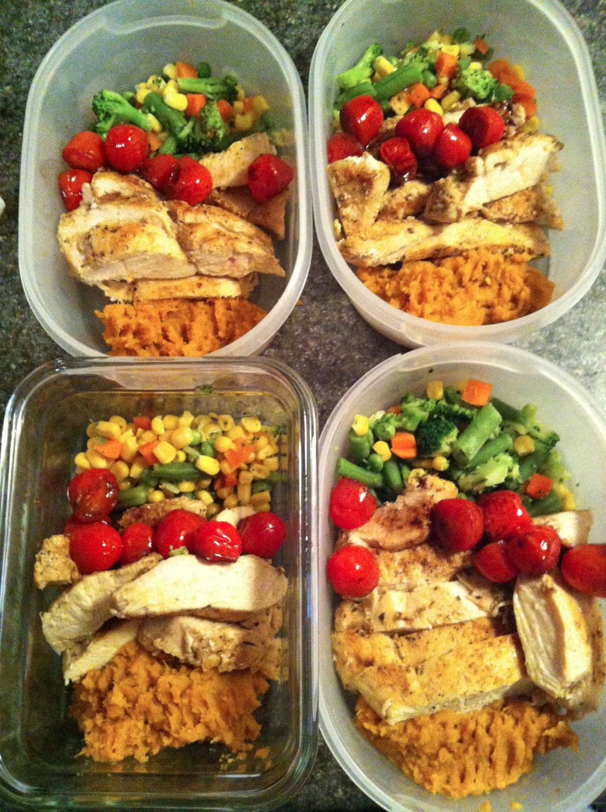 prepped meals | Sunshine Wellness Institute - Nutrition ...