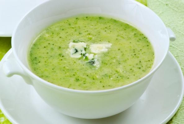 Крем суп из брокколи со сливками рецепт пошагово