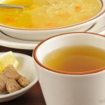 soups and tea
