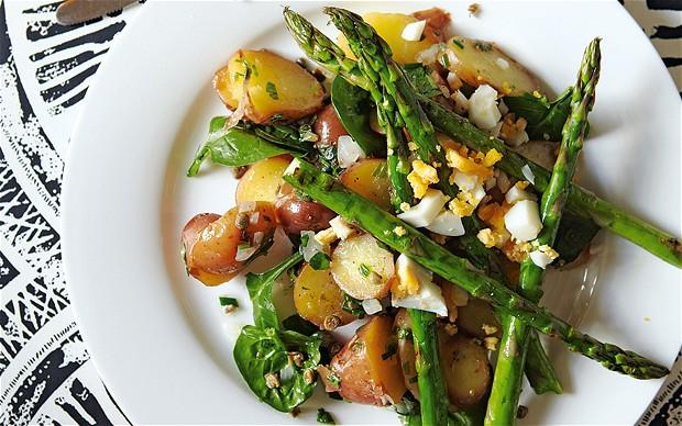 Roasted Potato, Lentil, Asparagus Salad | Sunshine Wellness Institute ...