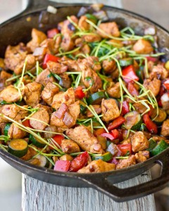 Asian Chicken and Veggie Stir Fry