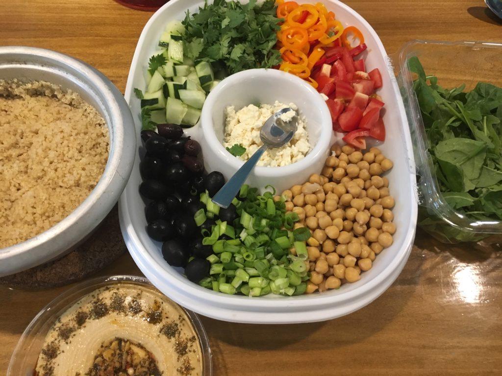 Vegetarian Greek Platter Sunshine Wellness Institute Nutrition Simplified